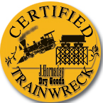 Trainwreck Badge