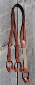 Old West Braided Leather Suspenders